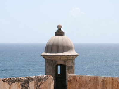 A Sentry Box Fort El Morro