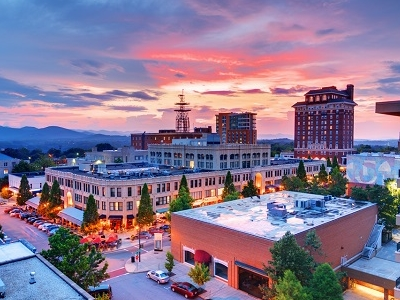 Asheville Downtown - North Carolina