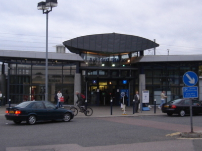 The Previous Station Entrance