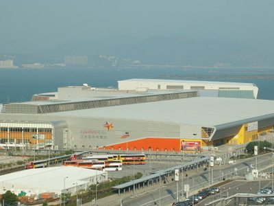 Asia World   Expo From  Skydeck