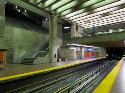 Assomption Metro Station