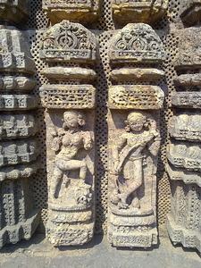 A Stone Work Of Konark Sun Temple