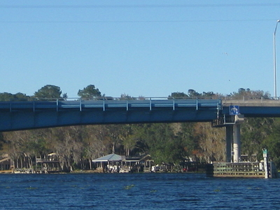 The Astor Bridge Over The St. Johns River