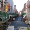 A Street In Front Of Kita Senju Station In Adachi