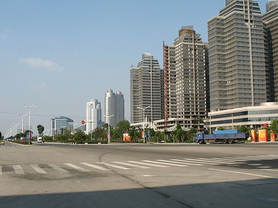 A Street In Taizhou