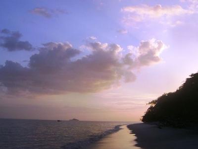 Atardecer En Las Playas