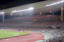 Interior View Of Atatürk Olympic Stadium