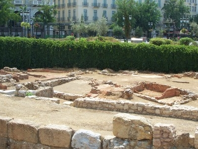 Antiquities On Display At Kotzia Square