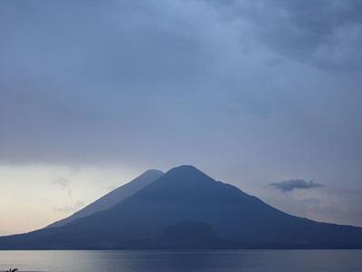 Atitlan And Toliman Volcanoes