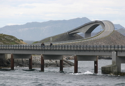 The Hulvagen Bridges With The Storseisundet Bridge