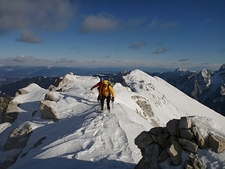 Atop Mojstrovka - Julian Alps