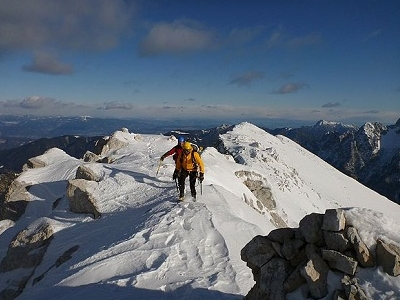 Atop Mojstrovka - Julian Alps