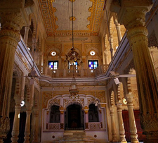 Palace Interiors In Shivpuri