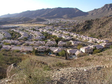 A Typical Ahwatukee Neighborhood Seen From South Mountain Park