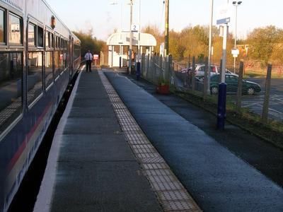Auchinleck Railway Station North View