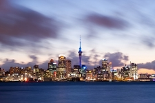 Auckland Skyline - North Island
