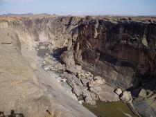 Augrabies Falls During The Dry Season