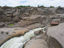 Augrabies Falls And Platform