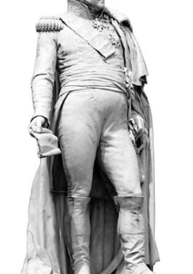 View Of  Augstin-Daniel Belliard Statue