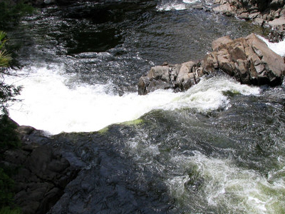 Ausable River Hull Falls Keene
