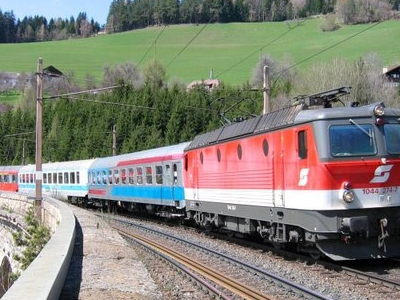 International Express On The Semmeringbahn