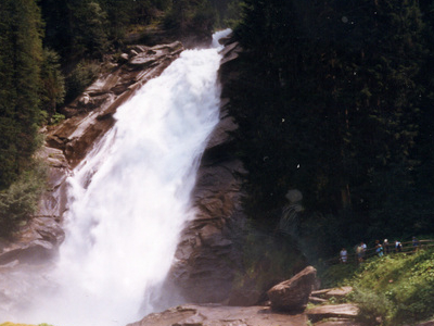 A Small Part Of The Krimmler Falls