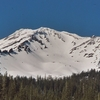Avalanche Gulch On Mount Shasta