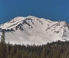 Avalanche Gulch On Mount Shasta