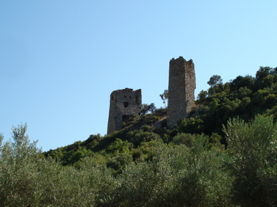 Avandas Castle Remains