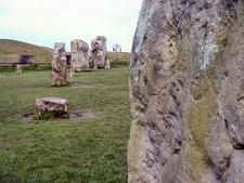 Avebury Stone Circle Monument - Wiltshire - England