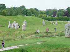 Avebury Stone Circle - Wiltshire - England