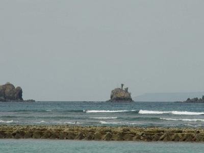 A View Across The Lagoon To Gili Tepekong Gili Biaha And Gili Mi