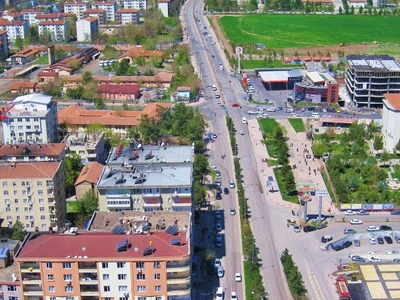 A View Of Diyarbakr City