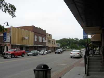Downtown Papillion Looking North