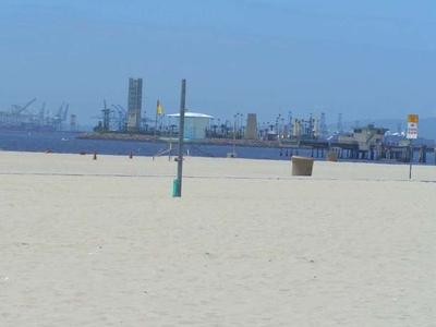 A View Of Long Beach City Beach