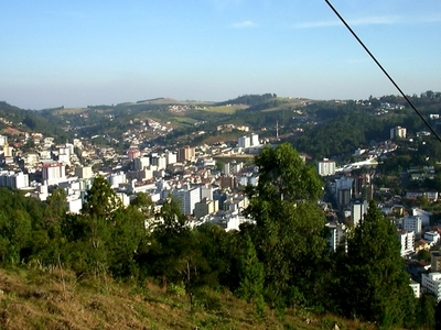 A View Of Serra Negra From The Morro Do Mirante