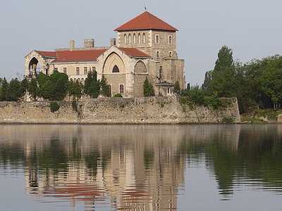A View Of Tata Castle, Hungary