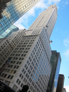 A View Of The Chrysler Building