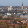 A View Over Central Wakefield From Sandal Magna
