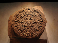 Aztec Calendar Stone At El Zócalo - Mexico City - Mexico