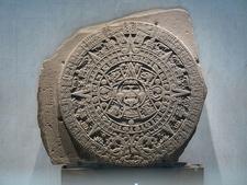 Aztec Calendar Stone - El Zócalo - Mexico City - Mexico