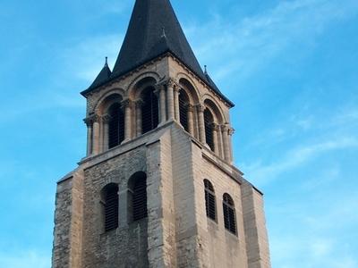 The Abbey Of Saint-Germain-des-Prés In The Evening