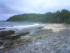 A Beach On The Headlands Coastal Trail
