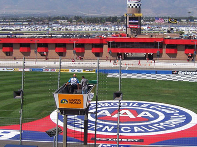 The Infield At The Speedway