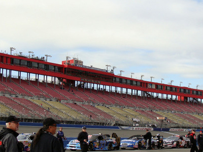 Main Grandstand From Pit Road