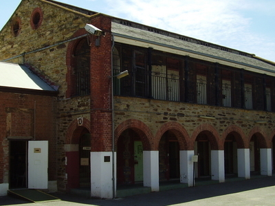 Adelaide Gaol Cell Block