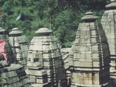 Adi Badri Complex Of Temples