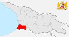 Adjara Locationin Georgia