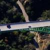 Aerial View: Western End Of Bridge