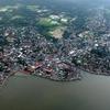 Aerial View Of Sorsogon City